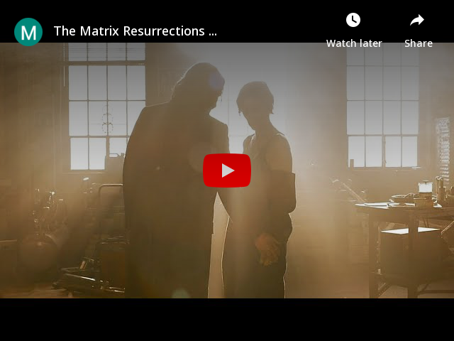 The Matrix Resurrections - All Teasers Trailers (HD)